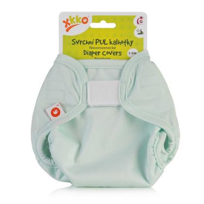 XKKO Diaper Cover Newborn - Pastel Mint