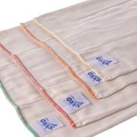Prefolded Diapers XKKO Organic - Regular Natural 24x6ps (Wholesale pack.)