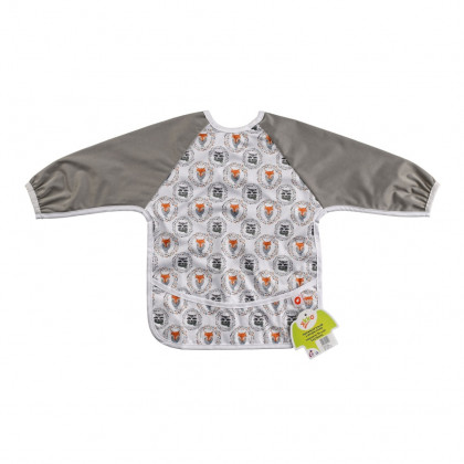 XKKO long-sleeve bib - Fox&Raccoon