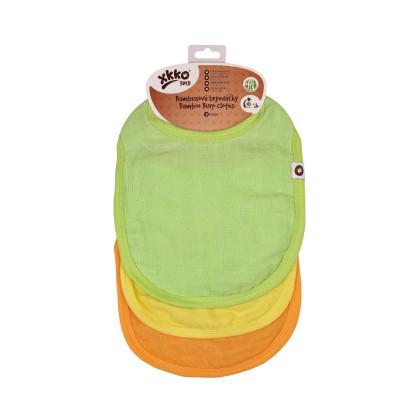 Bamboo Burp Cloth XKKO BMB - Colours MIX 3ps