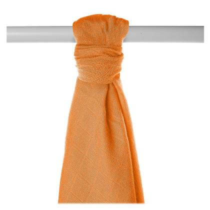 Bamboo muslin towel XKKO BMB 90x100 - Orange