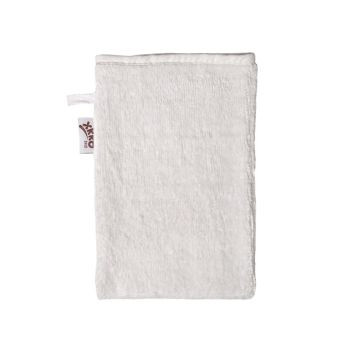 Bamboo Terry Bath Glove XKKO BMB - Natural