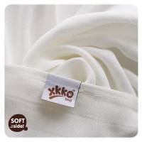 Bamboo muslin towel XKKO BMB 90x100 - Natural 10x1pcs (Wholesale packaging)