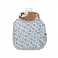 Bamboo Burp Cloth XKKO BMB - Baby Blue Cross
