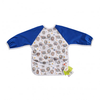 XKKO long-sleeve bib - Dreamy Sheeps
