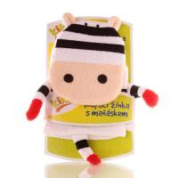 XKKO Cotton Bath Glove - Zebra 12x1ps (Wholesale pack.)