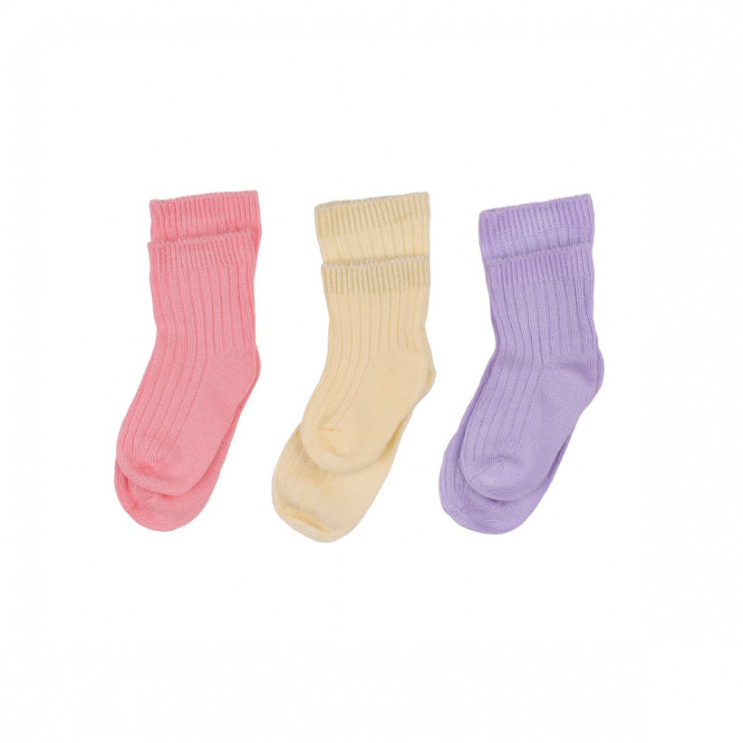 Bamboo Socks XKKO BMB - Pastels For Girls 5x box (Wholesale package)