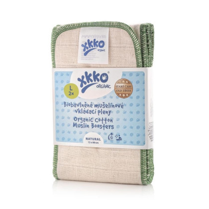 XKKO Organic Old Times Booster - Natural Size L (2ps)