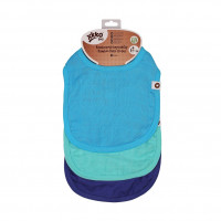 Bamboo Burp Cloth XKKO BMB - Ocean Blue MIX 3ps