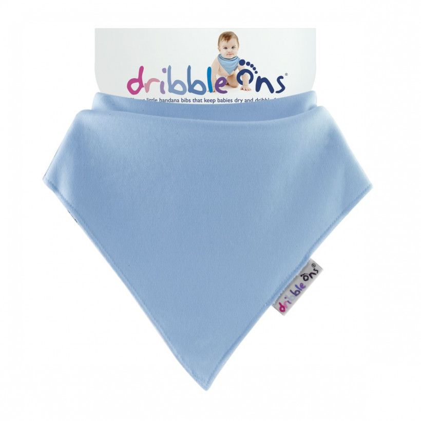 Dribble Ons Baby Blue 3x1ps (Wholesale pack.)