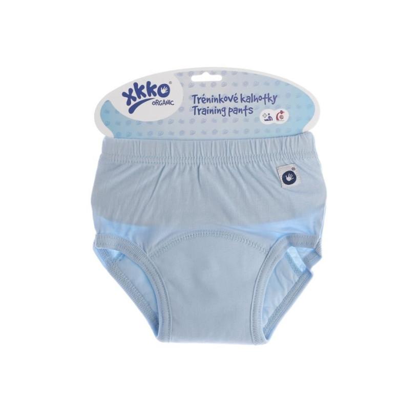 Organic Cotton Training pants XKKO Organic - Baby Blue