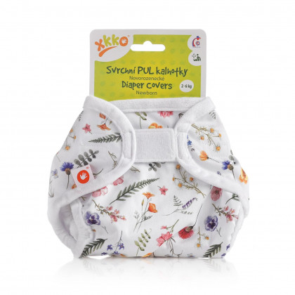 XKKO Diaper Cover Newborn - Summer Meadow