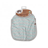 Bamboo Burp Cloth XKKO BMB - Mint Chevron