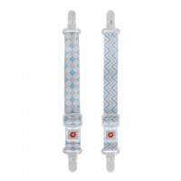 Multifunctional Clips XKKO - Scandinavian Baby Blue MIX