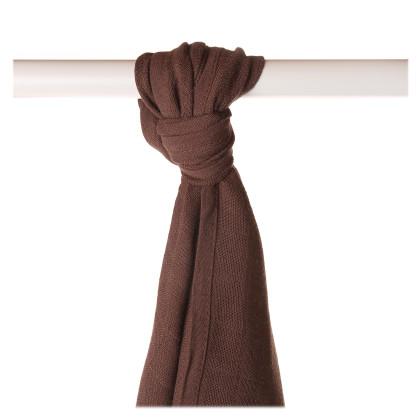 Bamboo muslin towel XKKO BMB 90x100 - Dark Choco