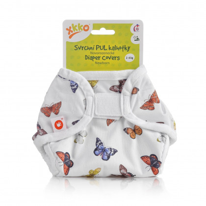 XKKO Diaper Cover Newborn - Butterflies