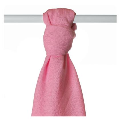 Bamboo muslin towel XKKO BMB 90x100 - Pink