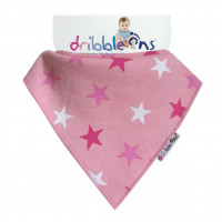Dribble Ons Pink Stars