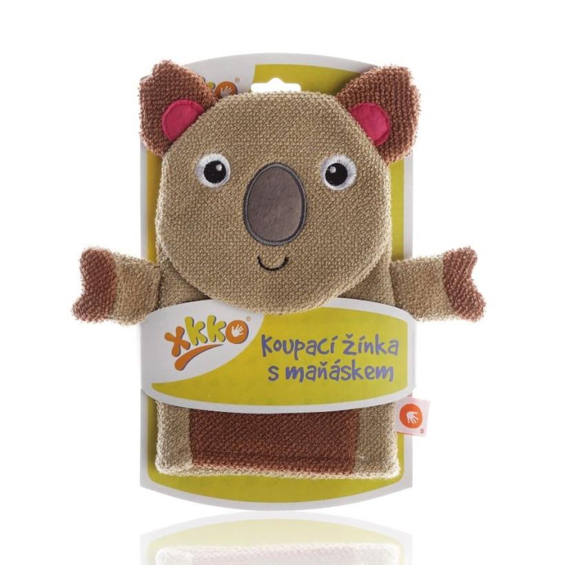 XKKO Cotton Bath Glove - Koala