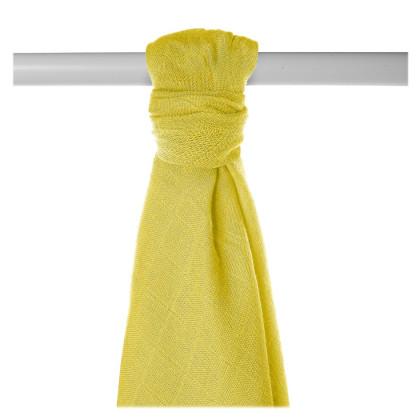 Bamboo muslin towel XKKO BMB 90x100 - Lemon