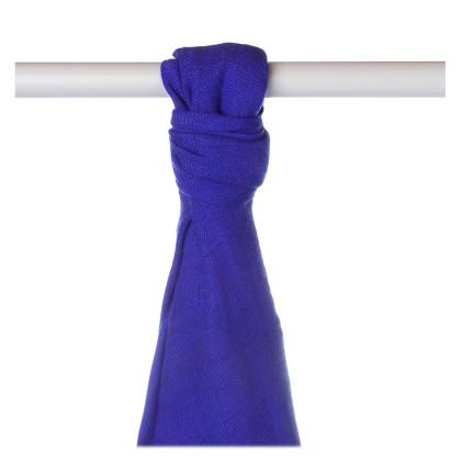 Bamboo muslin towel XKKO BMB 90x100 - Ocean Blue