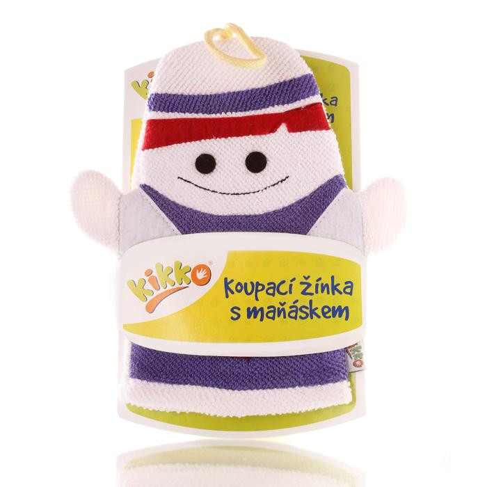 XKKO Cotton Bath Glove - Ghost