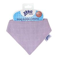Organic Cotton Muslin Bandana XKKO Organic - Violet