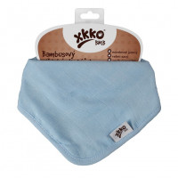 Bamboo bandana XKKO BMB - Baby Blue 3x1ps Wholesale packing