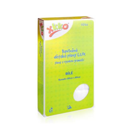 Hight Density Cotton Muslins XKKO LUX 80x80 - White