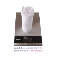 Hight Density Cotton Muslins XKKO LUX ECO 80x80 - Natural 20x10ps (Wholesale pack.)