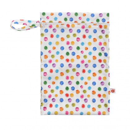 Wet Bag XKKO Size M - Watercolour Polka Dots