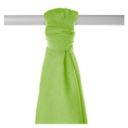 Bamboo muslin towel XKKO BMB 90x100 - Lime