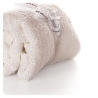 Bamboo washcloths XKKO BMB 60x60 - Natural 10x2ps (Wholesale pack.)