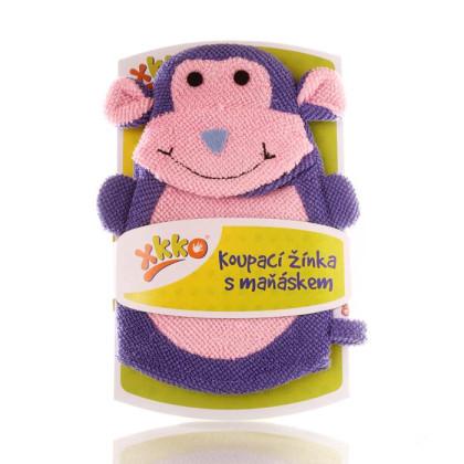 XKKO Polyester Bath Glove - Monkey
