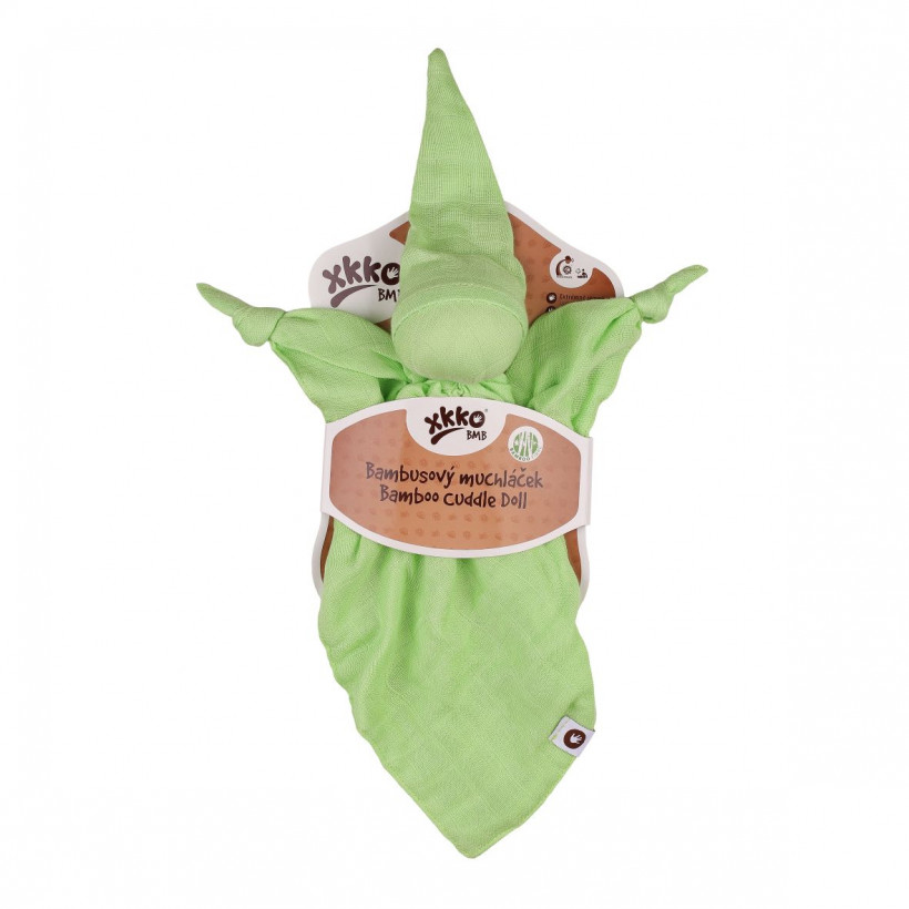 Bamboo cuddly toy XKKO BMB - Lime