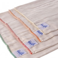 Prefolded Diapers XKKO Organic - Infant Natural 24x6ps (Wholesale pack.)