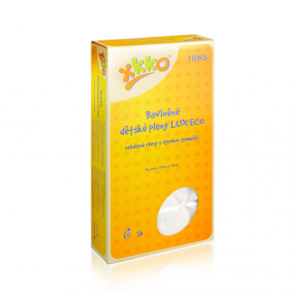 Hight Density Cotton Muslins XKKO LUX ECO 70x70 - Natural