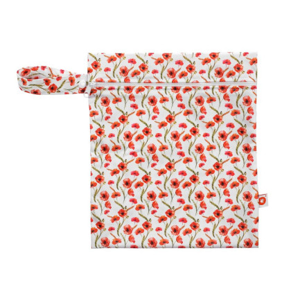 Wet Bag XKKO Size S - Red Poppies