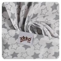 Bamboo muslins XKKO BMB 70x70 - Little Stars Silver MIX 3pcs