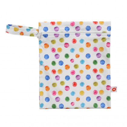 Wet Bag XKKO Size S - Watercolour Polka Dots