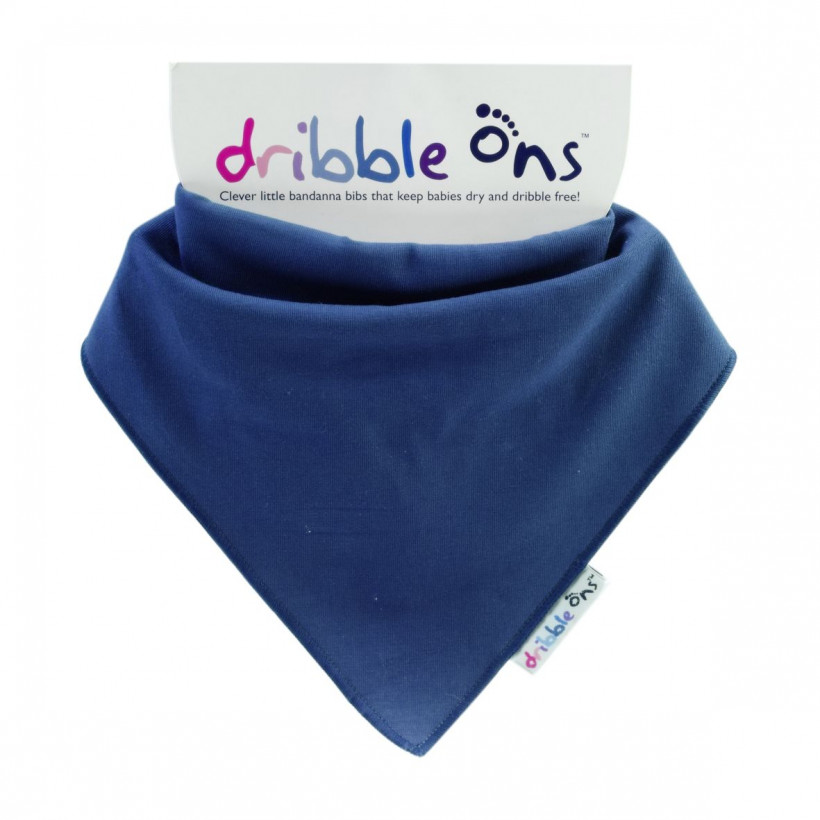 Dribble Ons Navy 3x1ps (Wholesale pack.)
