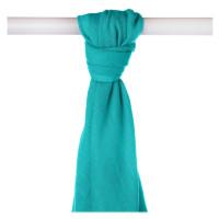 Bamboo muslin towel XKKO BMB 90x100 - Turquoise