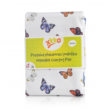 Washable Changing Pad XKKO 50x70 - Butterflies