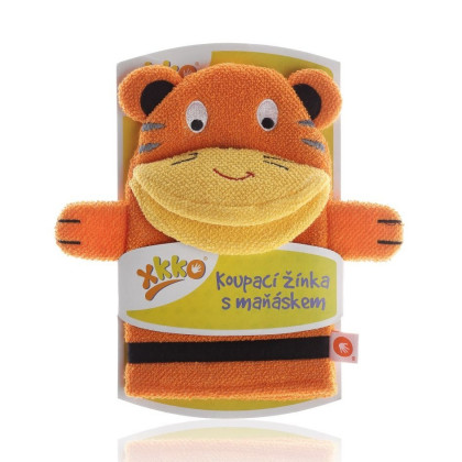 XKKO Cotton Bath Glove - Tiger