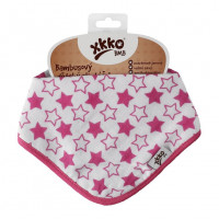 Bamboo bandana XKKO BMB - Little Stars Magenta 3x1ps Wholesale packing