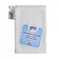 Organic cotton Terry Bath Glove XKKO Organic - White