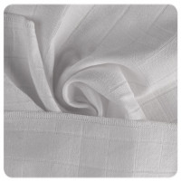 Organic Cotton Muslins XKKO Organic 40x40 Old Times - White
