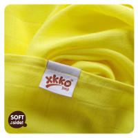 Bamboo muslins XKKO BMB 70x70 - Lemon 3pcs