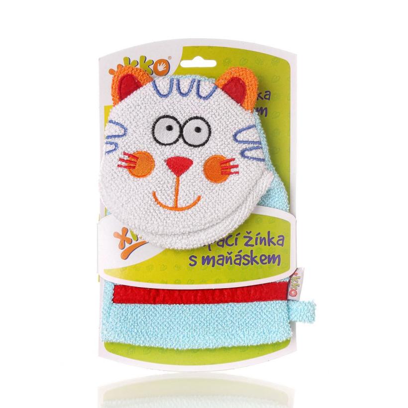 XKKO Cotton Bath Glove - Cat