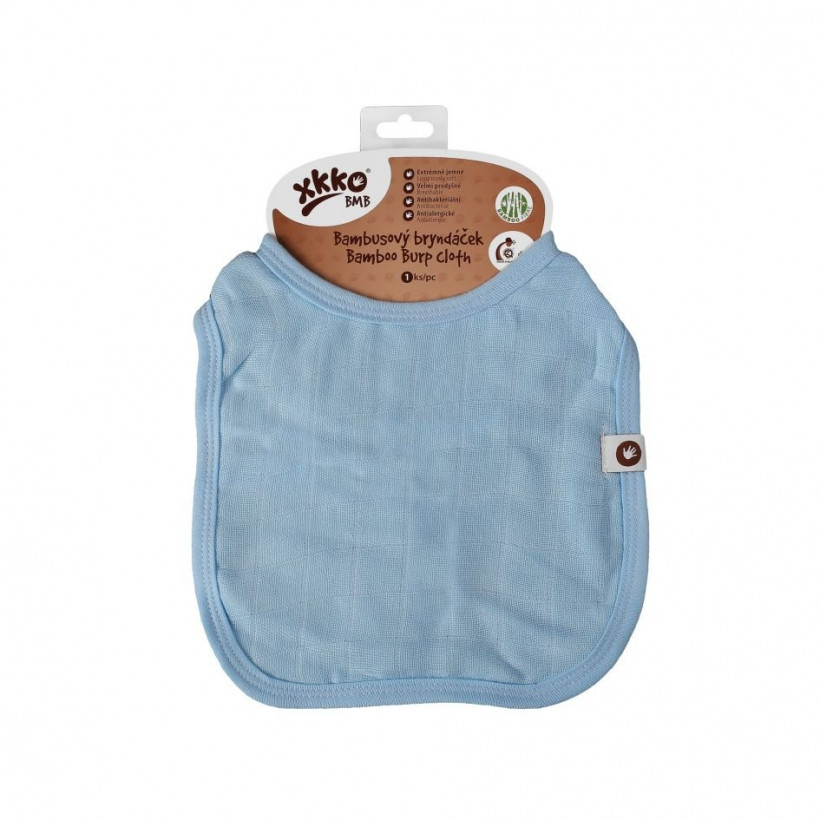 Bamboo Burp Cloth XKKO BMB - Baby Blue